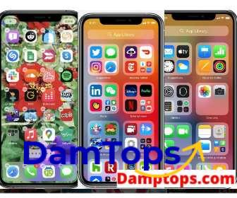 Cute ways to organize your apps on iPhone, iphone home screen layout ideas, aesthetic ways to organize your apps, creative ways to organize iphone apps, organize iphone apps on computer